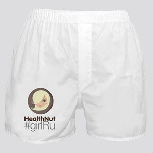 HealthNut #girlRu Boxer Shorts