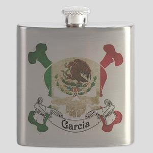 Garcia Skull Flask