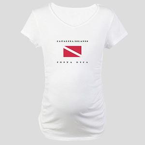 Catalina Islands Costa Rica Dive Maternity T-Shirt