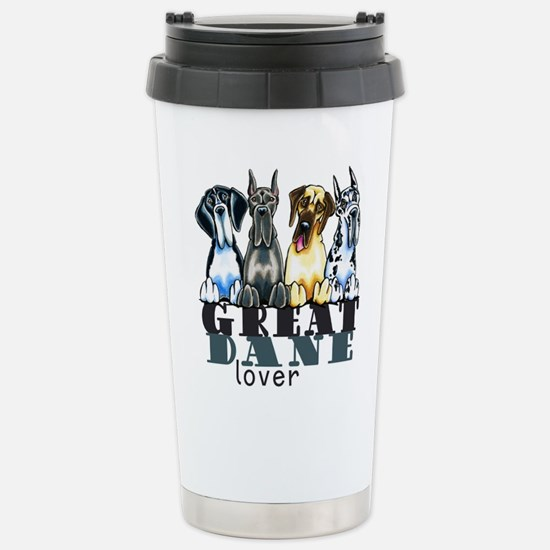 Great Dane Lover Travel Mug