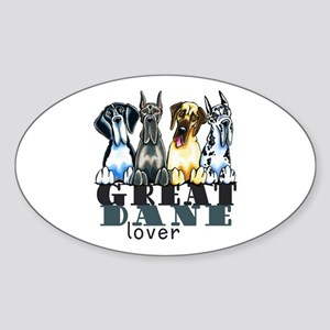 Great Dane Lover Sticker