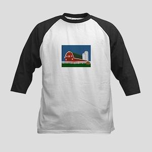 Big Red Barn Baseball Jersey