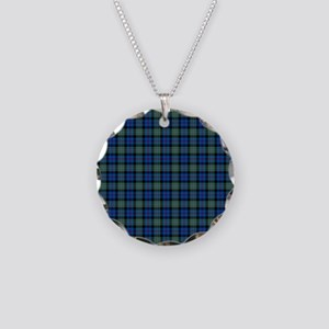 Tartan - Argyll dist. Necklace Circle Charm