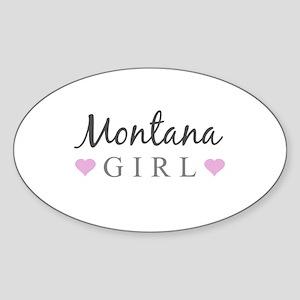 Montana Girl Sticker