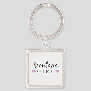 Montana Girl Keychains