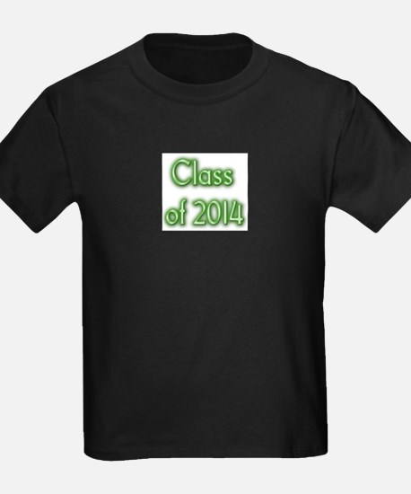 Class of 2014 - green with shadow T-Shirt