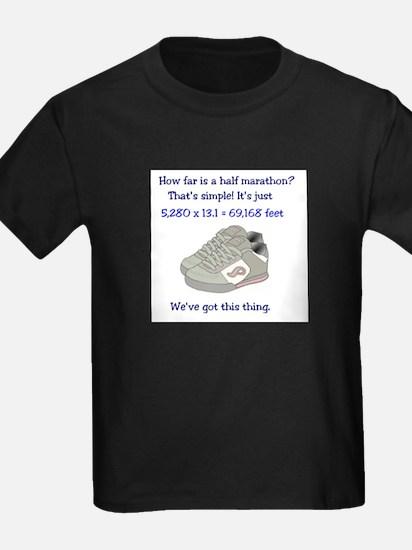 How far is a half marathon? T-Shirt