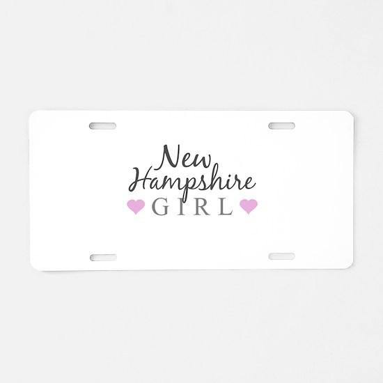 New Hampshire Girl Aluminum License Plate