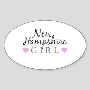New Hampshire Girl Sticker