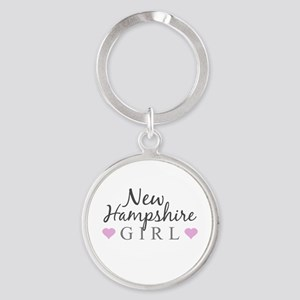 New Hampshire Girl Keychains