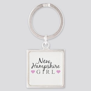 New Hampshire Girl Keychains