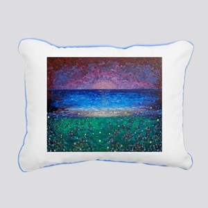 Glow Bugs Rectangular Canvas Pillow
