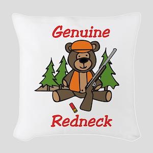 Genuine Redneck Woven Throw Pillow
