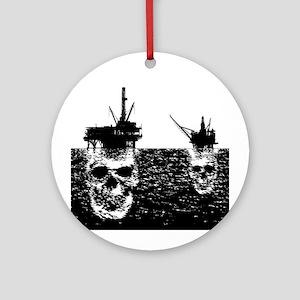 OFFSHORE OIL RIGS Ornament (Round)
