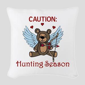 Hunting Season Woven Throw Pillow