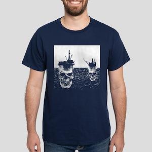OFFSHORE OIL RIGS Dark T-Shirt