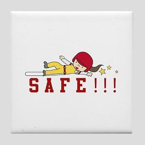 Safe!!! Tile Coaster