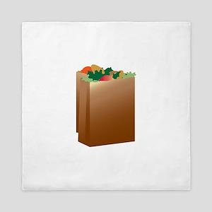 Paper Grocery Sacks Queen Duvet