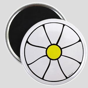 White Daizee Magnet