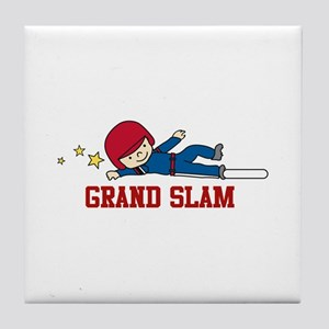 Grand Slam Tile Coaster