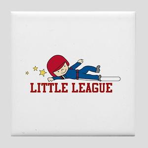 Little League Tile Coaster