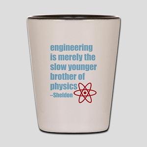 Big Bang Theory - Engineering Quote Shot Glass