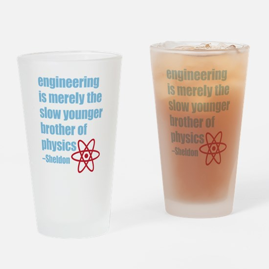 Big Bang Theory - Engineering Quote Drinking Glass