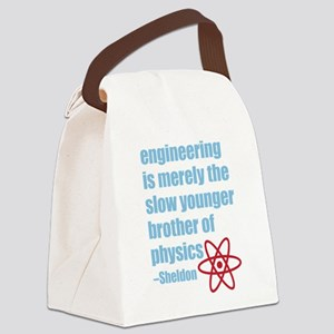 Big Bang Theory - Engineering Quo Canvas Lunch Bag