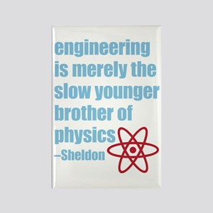 Big Bang Theory - Engineering Quo Rectangle Magnet