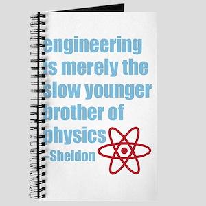 Big Bang Theory - Engineering Quote Journal