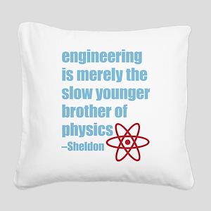 Big Bang Theory - Engineering Square Canvas Pillow