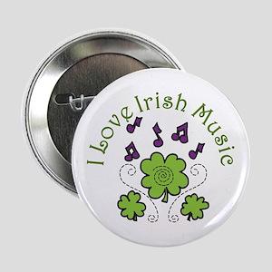 "Love Irish Music 2.25"" Button"