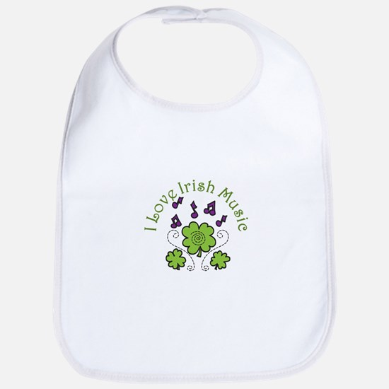 Love Irish Music Bib