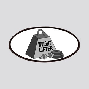 Weight Lifter Patches