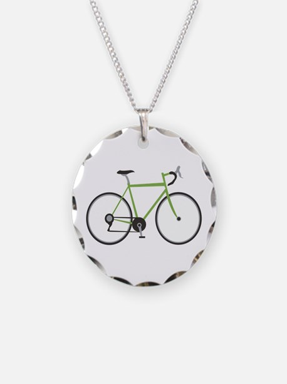 Ten Speed Bike Necklace