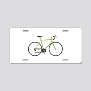 Ten Speed Bike Aluminum License Plate