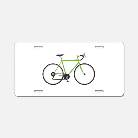 Ten Speed Bike Aluminum License Plate
