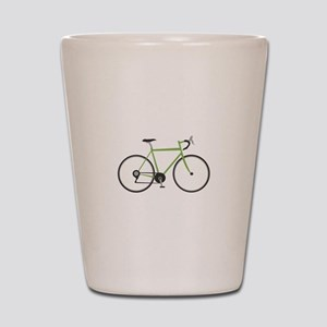 Ten Speed Bike Shot Glass