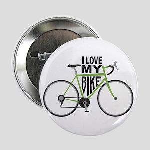 """I Love My Bike 2.25"""" Button"""