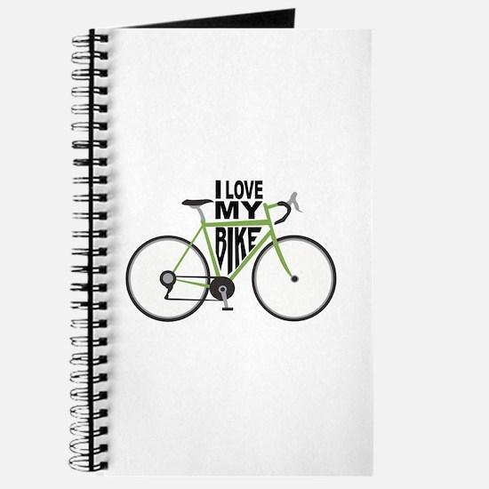 I Love My Bike Journal