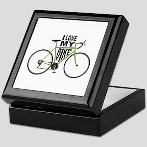 I Love My Bike Keepsake Box