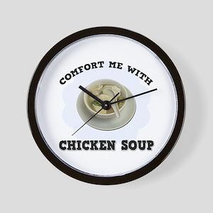 Comfort Chicken Soup Wall Clock