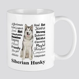 Husky Traits Mugs