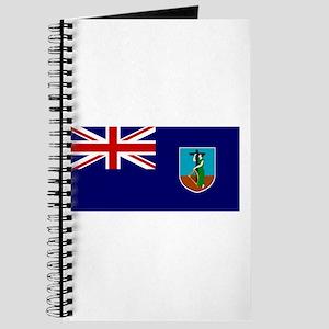 Montserrat Flag Journal