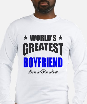 Greatest Boyfriend Semi-Finali Long Sleeve T-Shirt