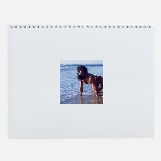Cute A women Wall Calendar