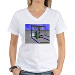 Too Modded Women's V-Neck T-Shirt