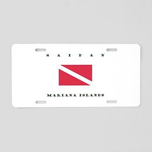 Saipan Mariana Islands Dive Aluminum License Plate