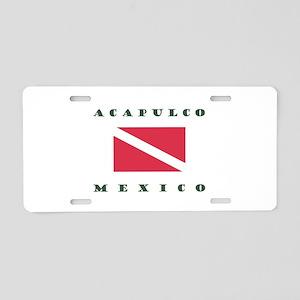 Acapulco Mexico Dive Aluminum License Plate