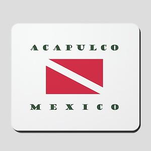 Acapulco Mexico Dive Mousepad